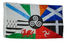CELTIC NATIONS FLAG SIZE 3 X 5 FEET 2 GROMETS POLYESTER NEW