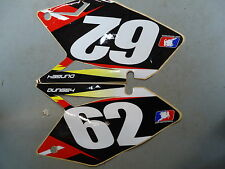 Suzuki RMZ250 2007-2009 Ryan Dungey come ufficiale nero n.62 backgrounds RM1668