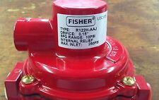 Fisher H.P.Regulator R122H-AAJ  with POL x 1/4 Pipe x 6 Inch Tank Adapter