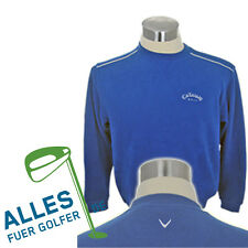 Callaway Golf Jumper Easy Care Cotton Blended Fabric Royal Blue US S D 46 NIP