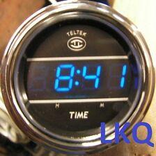 PETERBILT BLUE DIGITAL TELTEK DASH CLOCK VOLVO/MACK 243