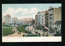 USA NEW YORK Mulberry Bend Park c1902 u/b PPC