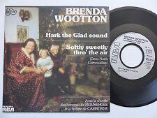 BRENDA WOOTTON Hark the glad sound Deux Noels CornouaillaS 61264 Discotheque RTL