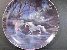 Fairyland Mimi Jobe TRAILS OF STARLIGHT Unicorn & Fairy  Ltd Ed Plate