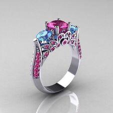 Topaz Sapphire Fashion Jewellery