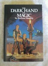 The Dark Hand of Magic by Barbara Hambly Vintage 1990 HCDJ BCE