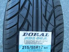 4 New 215/55R17 Inch  Doral Tires 2155517 215 55 17 55R R17