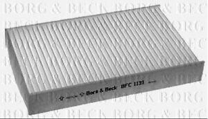 Borg & Beck Cabin Pollenfilter für Renault Limousine Fluence 1.5 63KW