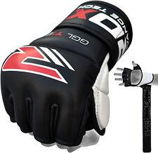 Authentieke RDX Punch Bag G 7oz Grijphandschoenen Voor UFC En MMA Black NL XL