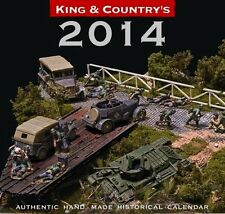 King & Country 2014 Desk Calendar for Toy Soldier Collectors
