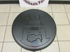 JEEP WRANGLER On The Rocks Logo Hard Spare Tire Cover NEW OEM MOPAR