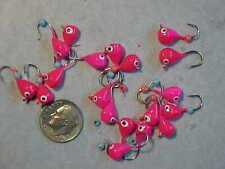 19 New Custom Panfishing Jigs Bluegill Size 8 Hooks Ice Fishing Pink