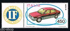 ITALIA IL FRANCOBOLLO MACCHINA ALFA ROMEO 33 AUTO 1984 nuovo**