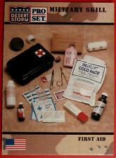 DESERT STORM - Card #157 - Military Skill: FIRST AID - Pro-Set 1991
