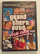 Grand Theft Auto: Vice City Black Label (Sony PlayStation 2,)Cleaned & Sealed