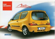 Fiat Seicento Sporting LM (made in Poland) _2001 Prospekt / Brochure