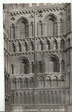 Cambridgeshire Postcard - Ely Cathedral - Detail of West Front   ZZ2023