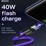 Samsung Galaxy S10 Plus S9 Note 9 USB Type-C 40W 5A Charging Charger Cable Cord