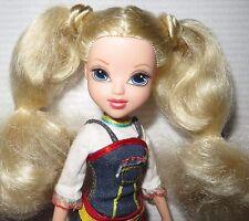 "MOXIE DRESSED DOLL ~ 10"" BLONDE BLUE EYES AVERY ROLLER SKATE GIRLZ MGA DOLL"