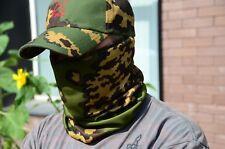 Russian army Scarf Face Mask Balaclava Partizan SS camo