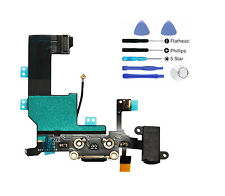 Black audio charge connector charging port flex cable iphone 5 Replacement Tools