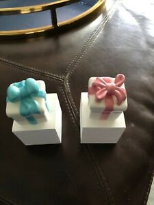 Nora Fleming Mini Pink & Blue Packages Retired