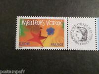FRANCE 2004, timbre Personnalisé 3724A / CERES MEILLEURS VOEUX neuf**, MNH STAMP