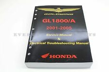 Genuine Honda Service Shop Repair Manual 01 02 03 04 05 GL1800 Goldwing OEM #N15