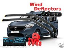 Wind deflectors DACIA Lodgy  2012 / Dokker 2012  HEKO 13109  for FRONT DOORS