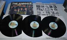 The Animals: House of the Rising Sun 3 LP Box Set France 1984 - RARE!