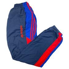 Adidas 90s Parachute Track Pants Trackies Nylon Sweats Mens Windbreaker 3 Stripe