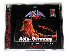 2 CDs: Asia - Live in Koln Germany (1997, Blueprint) BP-254-CD Austrian Import