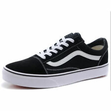 e549503070 VAN Old Skool Skate Shoes Black White All Size Classic Canvas Sneakers  UK3-UK9