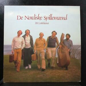 De Nordiske Spillemænd - På Louisiana LP VG+ Harlekin HMLP 4310 Denmark 1982
