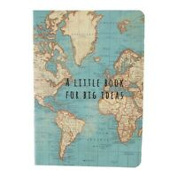 Pocket Size Vintage Map Notebook Map A Little Book Big Ideas Travelling Gift