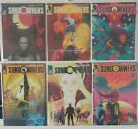 Sundowners 1 2 3 4 5 6 Complete Set Series Run Lot 1-6 VF/NM