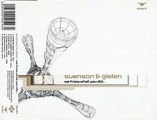 Svensson & Gielen: we know what you did.../6 TRACK-CD