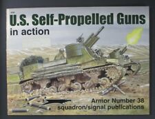 Squadron Signal Publications US self Propelled Guns Book NO. 2038 Used!!