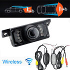 2.4G Wireless Car Reverse Rear View Backup Camera 7 IR Night Vision Parking Cam