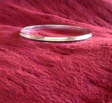 Sikh Kara Kada Silver Tone Chrome Plated Iron Bracelet Bangle Unisex