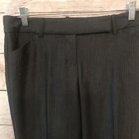NWT Express Editor Womens Gray Dress Trouser Pants Size 2 Regular