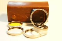 Rolleiflex Bay III Filter Set with Hood For 2.8F, 2.8E, 2.8C etc