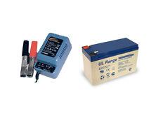 Blei-Gel-Akku 12V, 7Ah inkl. H-Tronic AL-300 Pro Bleiladegerät - Set