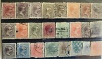 Mixed Puerto Rico Classic Stamp Lot Possible Faults ST62