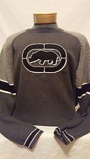 Ekko Unlimited Mens Gray Long Sleeve Sweater Sweatshirt Shirt Large L
