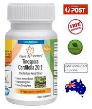 Tinospora Cordifolia (Giloy) Extract Capsules - Boosts Immunity - AU Stock