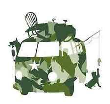 Sticker géant enfant « alphabet camouflage » KidsLAB