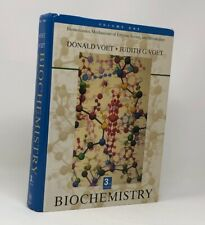 Volume One Biochemistry Donald  and Judith G. Voet (3rd Edition) With CD