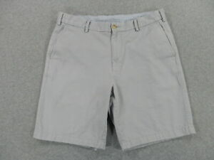 Peter Millar Crown Sport Casual Cotton Shorts (Mens 34) Tan