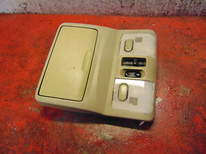 04 03 02 Infinity i35 dome map light overhead console & power sunroof switch